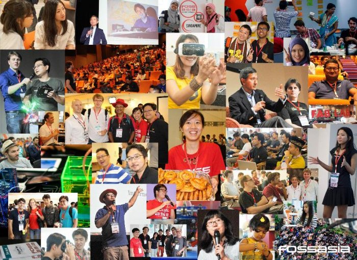Participate in FOSSASIA Summit 2016 in Science Center Singapore, March 18th-20th