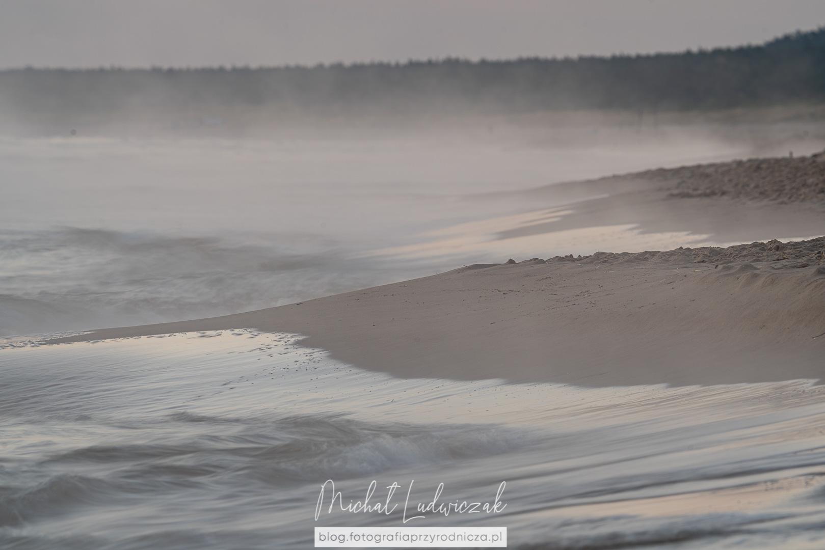 W oparach mgły