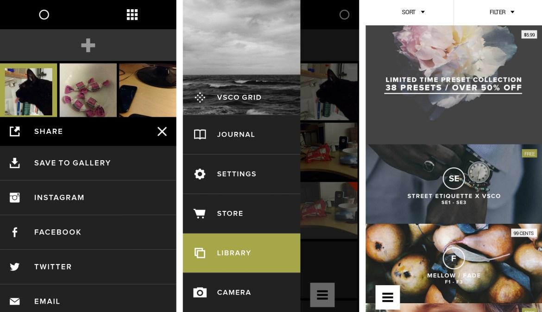 Image result for VSCO app