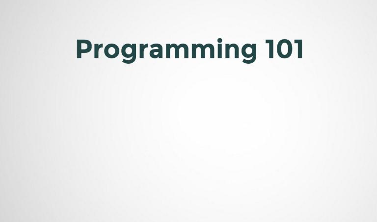 Expressive Programming