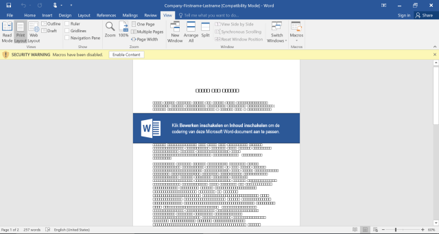Screenshot phishing campagin