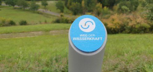 Weg der Wasserkraft