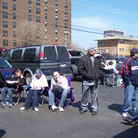 Tailgating at the White Sox opener