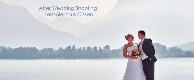 After Wedding Shooting – Festspielhaus Füssen