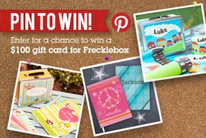 Frecklebox Pin To Win Contest