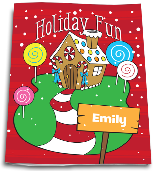 HOLIDAY FUN ACTIVITY AND COLORING BOOK