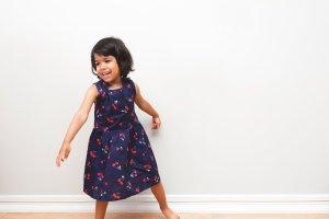 girl dancing after school