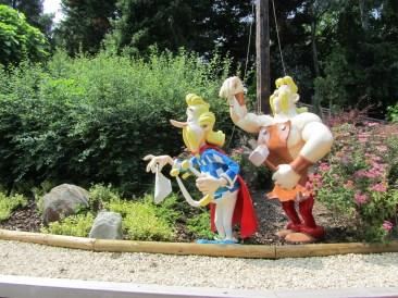 Journée au parc Astérix
