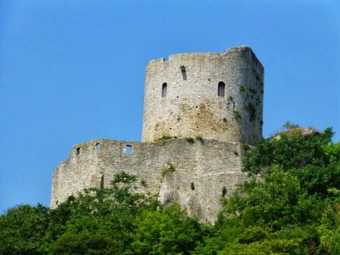 Sur les hauteurs du château de la Roche-Guyon