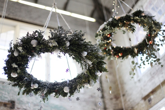 Woodland Chandelier Wreath