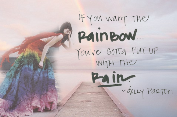 Post image for Inspiring Words: The Rainbow
