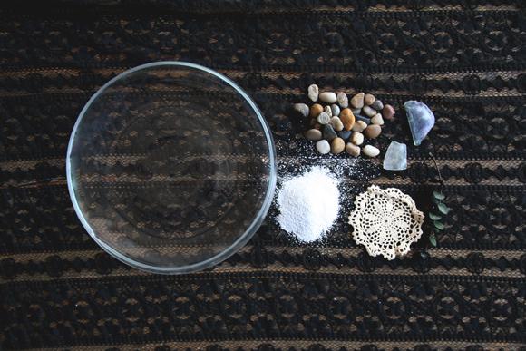 Zen garden materials