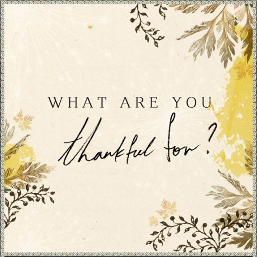Month of Thankfulness