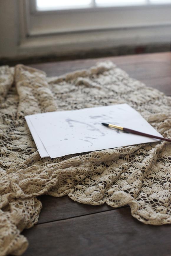 Painting, crochet