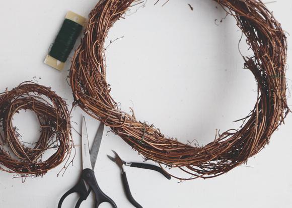 A Diy Wreath For The Holiday Season