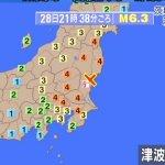 地震だ!茨城6弱