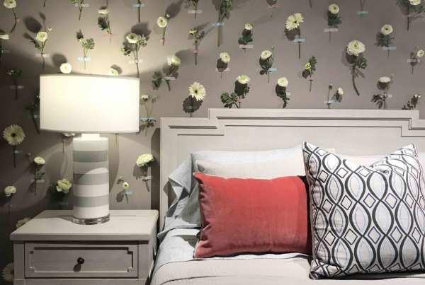 Universal Furniture's bedroom display