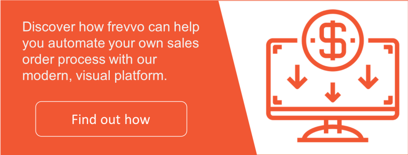 Frevvo's Sales Order Automation Solution