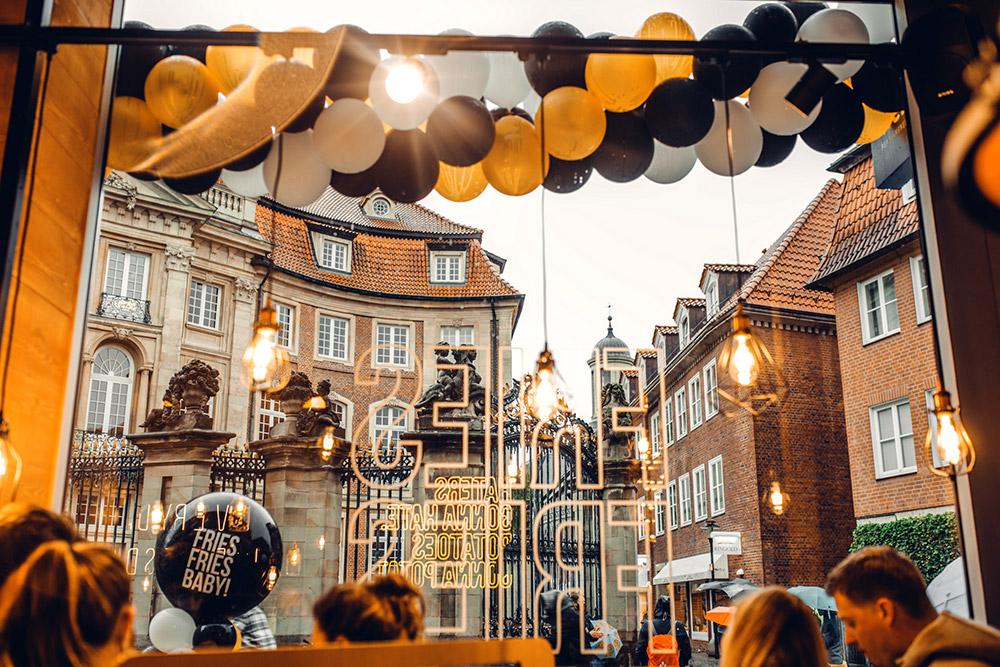 Frittenwerk-Opening in  Münster