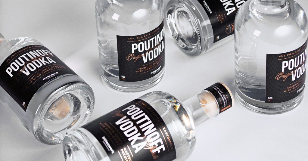 Poutinoff Vodka Aprilscherz