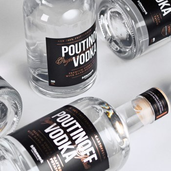 Poutinoff Vodka Aprilscherz