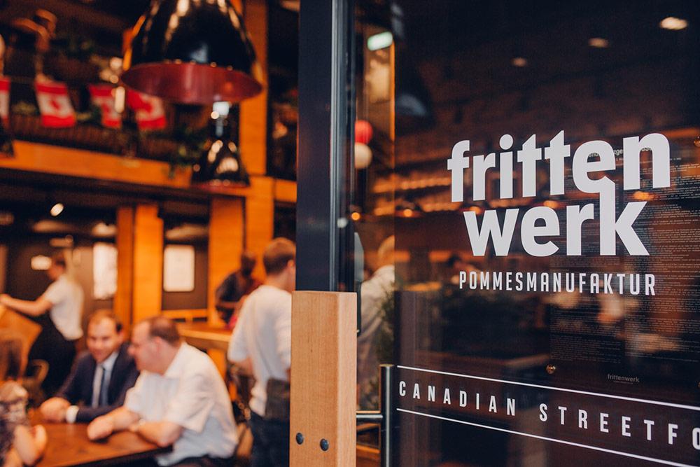 Frittenwerk Eröffnung in Frankfurt