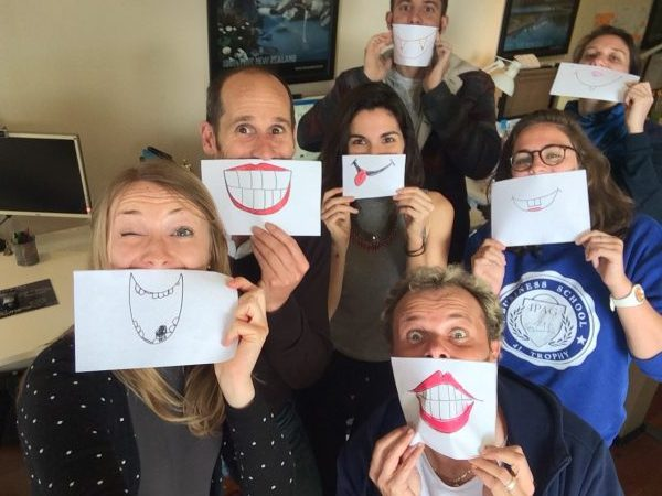 smile frogs team agence