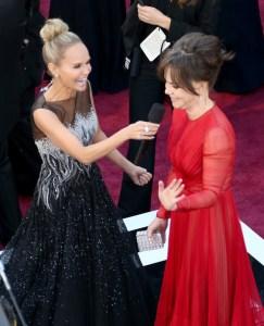 Kristin Chenoweth and Sally Field - Film Celeste meets Musical Celeste