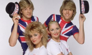 Cheryl Baker (bottom right) now lives with her Alsatians.