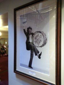 A quick look Front of House reveals another Palladium legend...