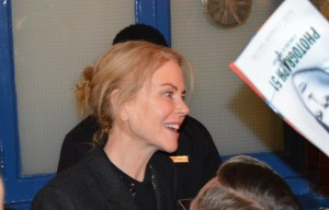Nicole at the Stage Door