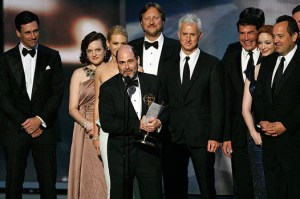 Bryan Batt and the Mad Men collect their 2009 Emmy