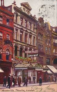 The Vaudeville Theatre: Early parts of the building date back to 1870
