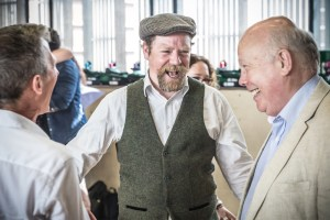 Rufus Hound and Lord Julian Fellowes (c) www.windinthewillowsthemusical.com