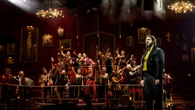 Production still from 'Natasha, Pierre and the Great Comet of 1812'