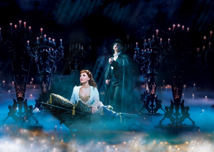Scene from 'The Phantom of the Opera' London production
