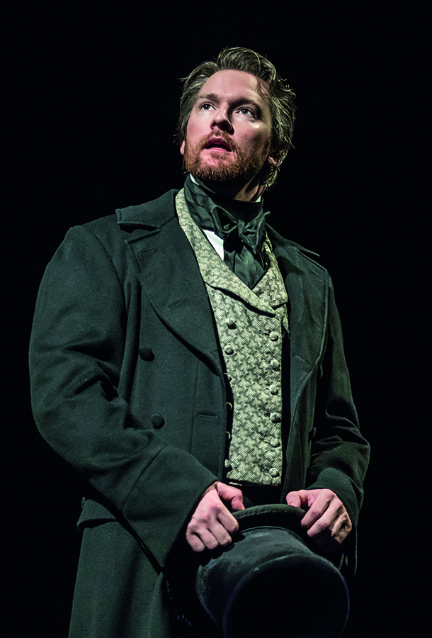 Production shot of Killian Donnelly in Les Miserables London