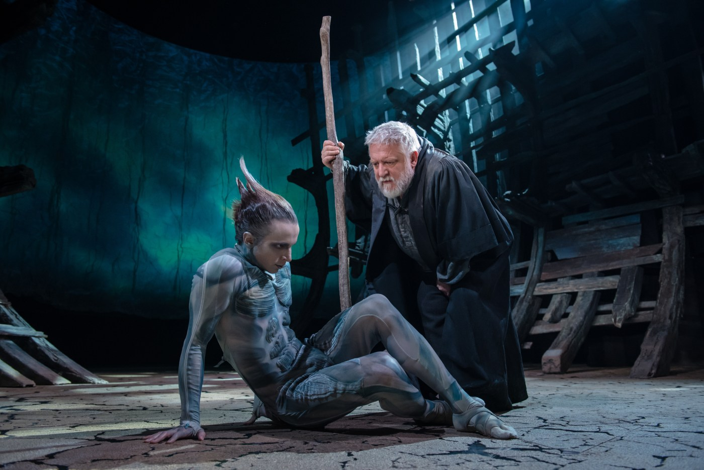 Production still from The Tempest RSC 2016