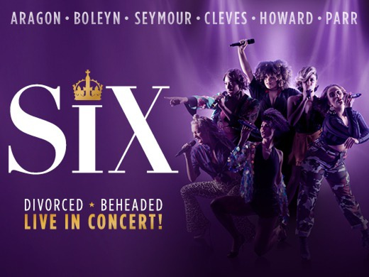 Banner for Six musical London