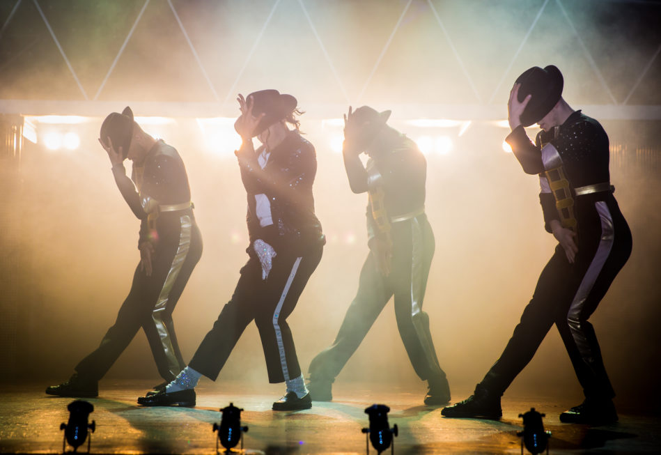 Production photo from Thriller Live London