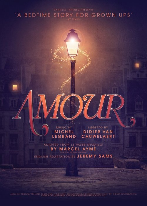 Amour London poster