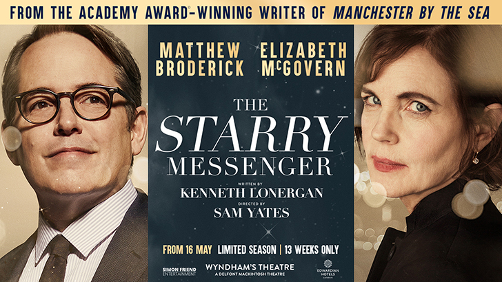 The Starry Messenger London banner