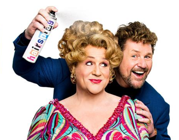 Hairspray image with Michael Ball