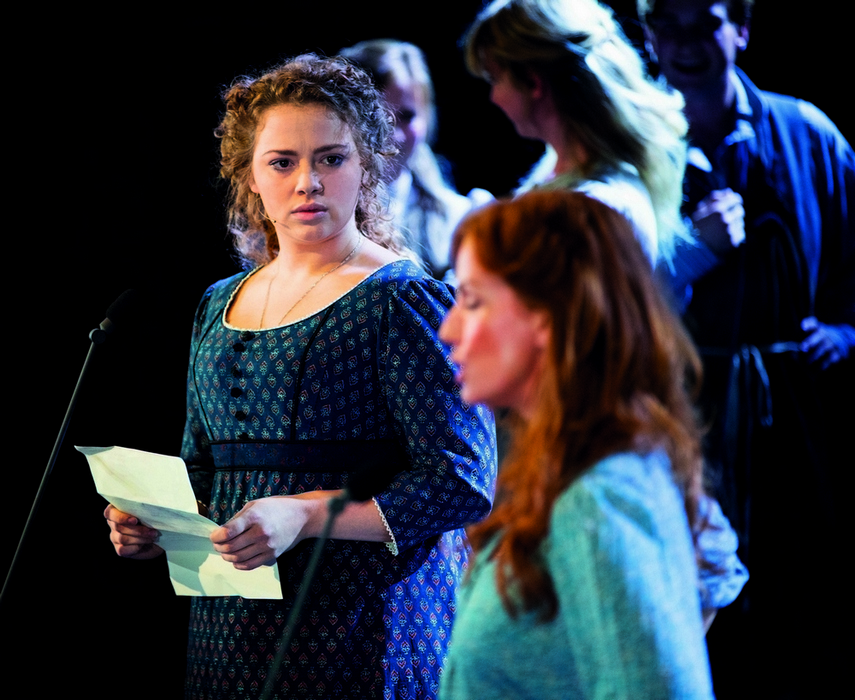 Photo of Carrie Hope Fletcher in Les Miserables the Concert
