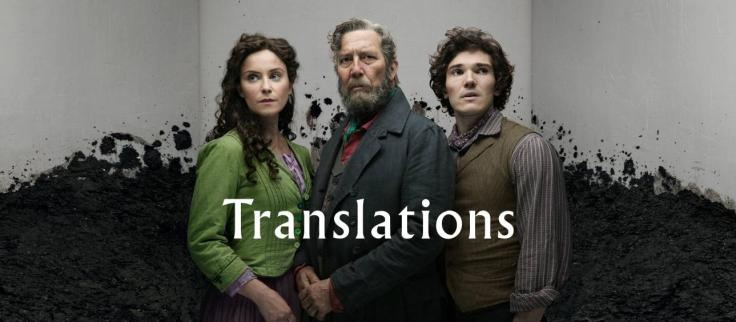 Photo of Judith Roddy, Ciaran Hinds and Fra Fee
