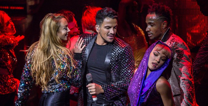 photo of Peter Andre in Thriller Live London