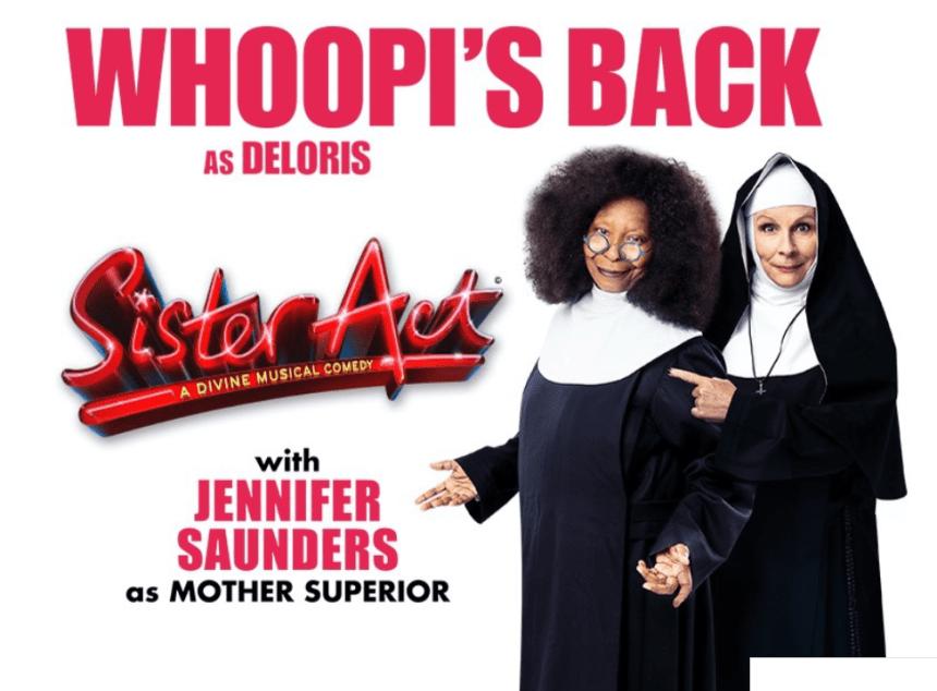 Sister Act London banner