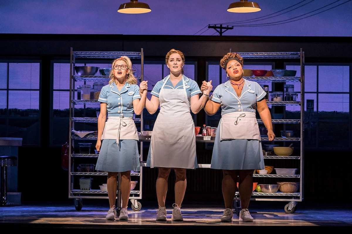 Production still from Waitress London