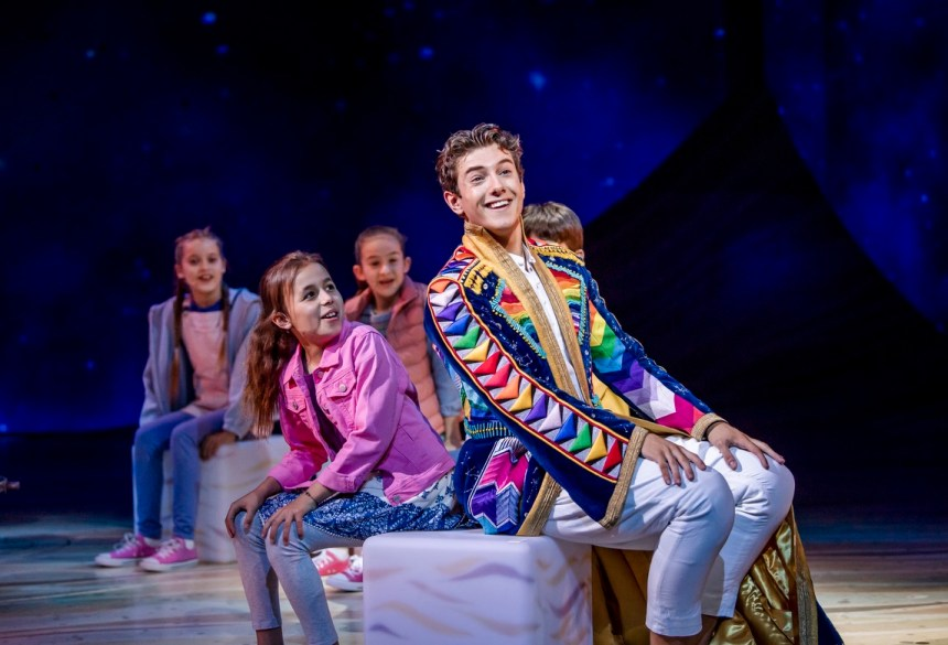 production still from Joseph at the London Palladium