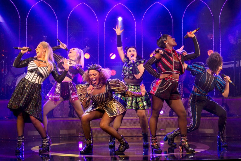 production still from Six the Musical